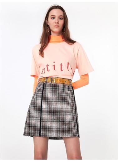 Twist Tişört Pembe